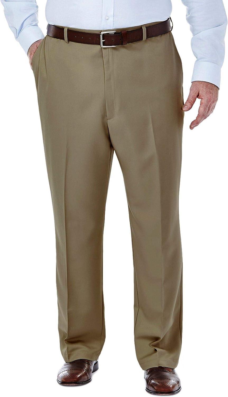 Choose SZ//color Haggar Men/'s Big-Tall Cool 18 Gabardine Hidden Exp