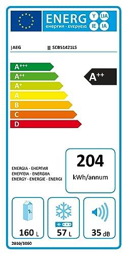 AEG SCB51421LS Integrado 217L A++ Blanco nevera y congelador ...