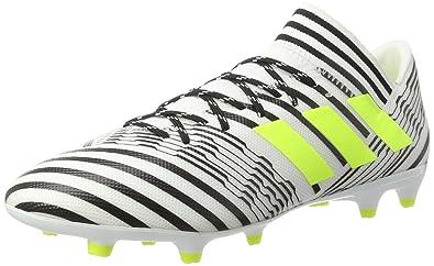 adidas uomini nemeziz fg ftwwht / syello / cblack scarpe da calcio