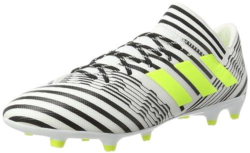 fae9a43cb3fb Adidas Men s Nemeziz 17.3 Fg Ftwwht Syello Cblack Football Boots - 11 UK