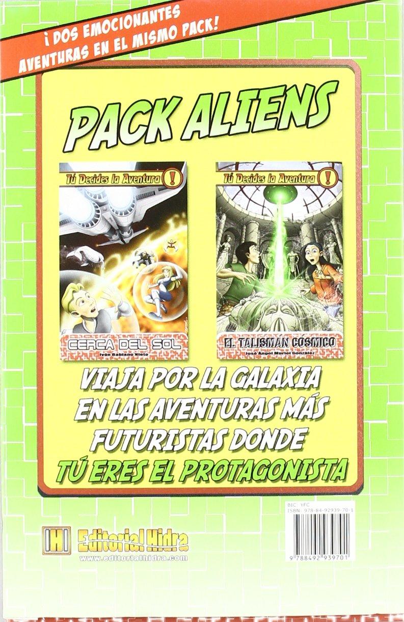 Aliens: tú decides la aventura: Pack 2 libros PACK TU DECIDES LA ...