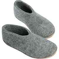 Glerups Unisex Model A Natural Wool Shoe Slipper