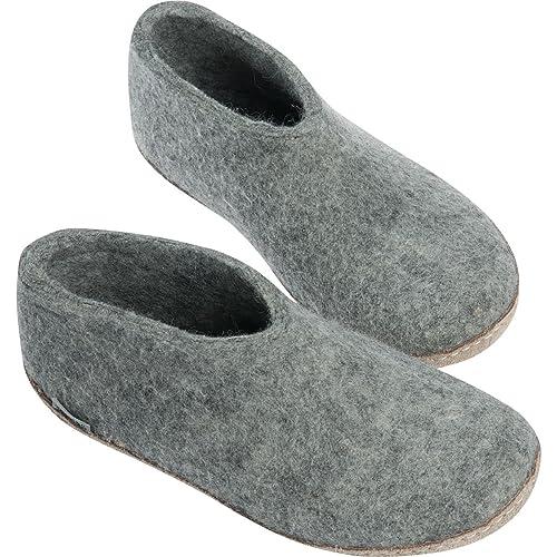 Glerups Unisex Slippers Grey 43 vnFVFbUpT