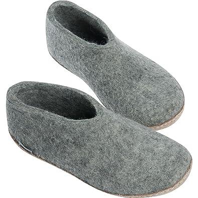 Glerups Unisex High Slippers Dark Grey 47 VGRxfps