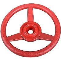 Gartenpirat Lenkrad rot für Spielturm, Spielhaus, Spielanlage
