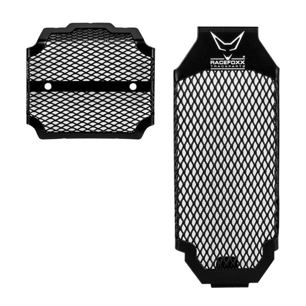 Ducati Scrambler enfriador rejilla protectora Set, Negro, racefoxx RF24434