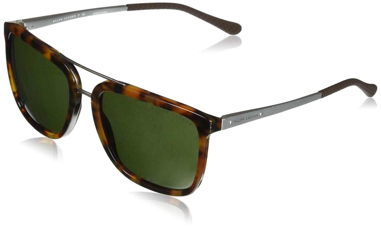 RALPH LAUREN 0RL8164 Gafas de sol, Havana Jerry, 58 para ...