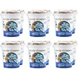 purely elizabeth Vibrant Oats Cup - Gluten-Free Oats - Made With Coconut Milk & Packed with Protein and Fiber | Antioxidant-Rich | Blueberry Lemon - 12 Count (111306)