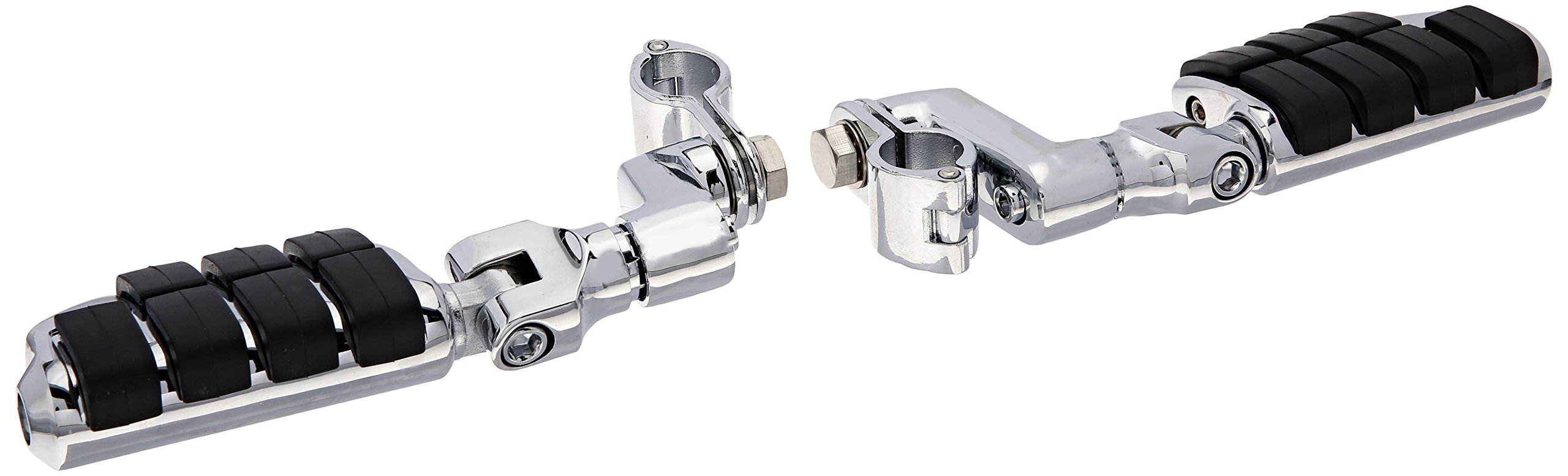Kuryakyn 7976 Offset Dually ISO-Peg with 1'' Clamps