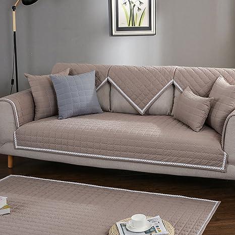 SAFAJINHH Funda de sofá,Cuatro Estaciones Simple Algodón ...