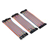 HYY 3 in 1 Male to Female /Male to Male /Female to Female Breadboard Jumper Wires for Arduino and Raspberry pi