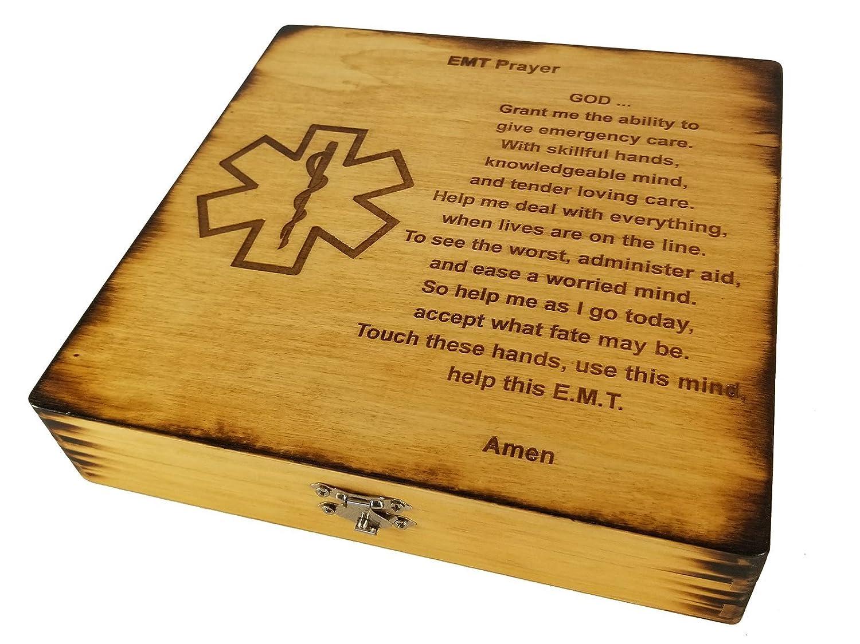 EMT Prayer Keepsake Box - EMT Graduation Gift - Emergency Medical Technician