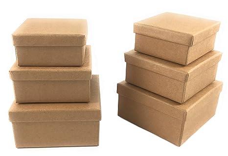 Fai Da Te Box In Cartone Regalo Box Scatola Di Cartone Con Coperchio