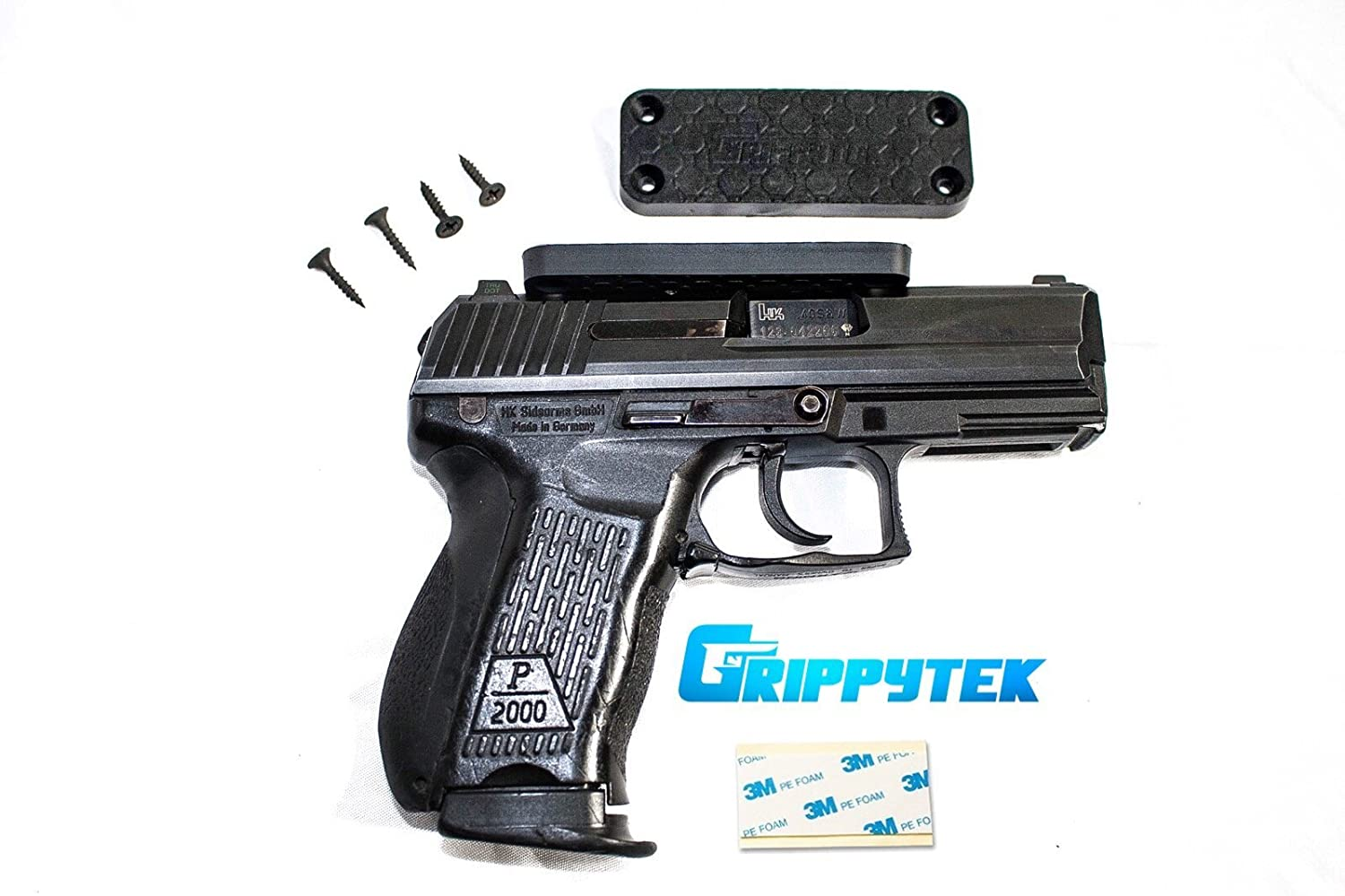 Grippytek Magnetic Gun Mount Holster For Vehicle And How To Build Home Rubber Coated 43 Lbs Rated Firearm Accessory Concealed Holder Handgun