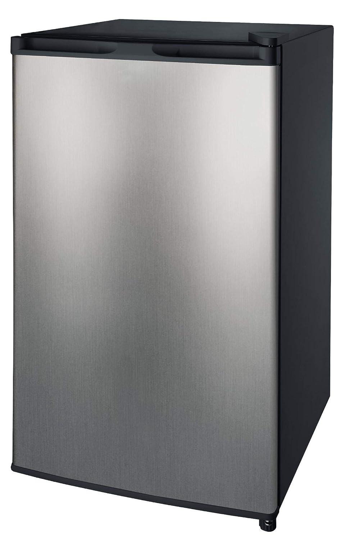 Auténtico 3.2 Cu. Ft. 1 Door Compact Refrigerator Mini Fridge Cooler Freezer Compartment Reversible Door Adjustable Temperature Control Perfect For Small Space Like Dorm Wet Bars Condo Office Hotel