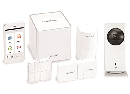 iSmartAlarm ISA3G Cube One para Seguridad del hogar sigo Incluye 1 x cámara de Seguridad