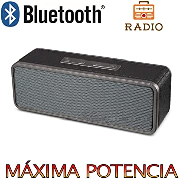 Altavoz Bluetooth, Unicview BY1040 con Radio Estéreo HD ...