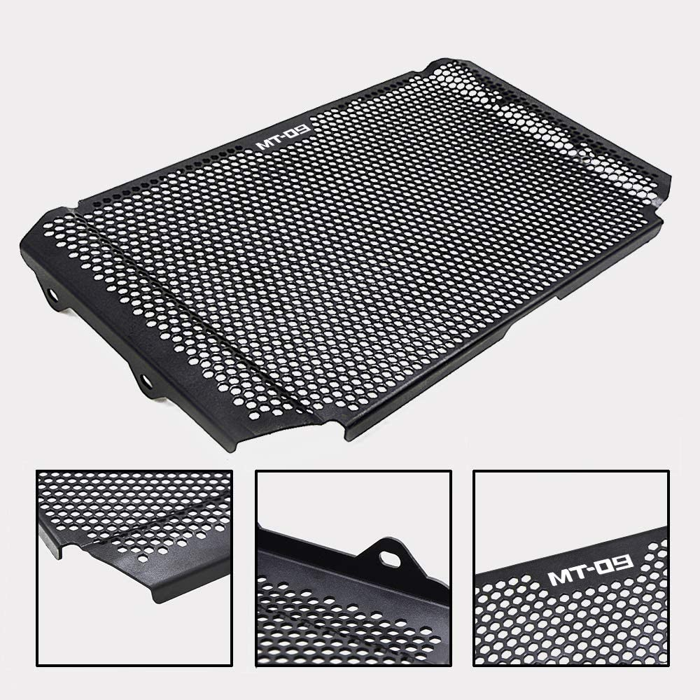 BLACK XSR900 Motorcycle Radiator Grille Guard Cover Aluminum Alloy Protector for Yamaha XSR900 XSR 900 2016 2017 2018 2019
