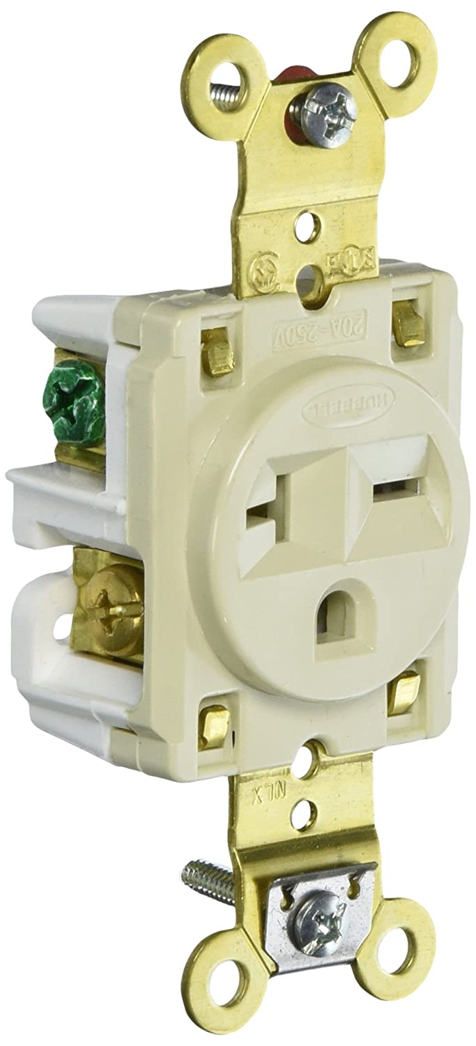 Leviton Decora Plus 20 Amp Industrial Grade Self Grounding Duplex Surge Outlet With Audible Alarm White 7380 W The Home Depot