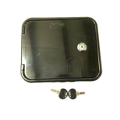 Valterra Black Electric Power Cord Cable Hatch Compartment Lock Keys: Automotive
