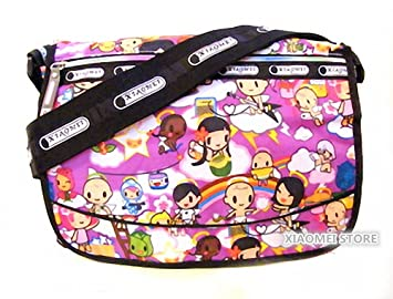1fd0ae826088 XIAOMEI Colourful Cartoon Girl s A4 Messenger Style Bag 825Z - for School  or College Etc