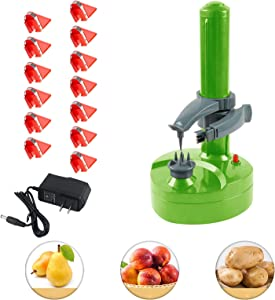 Electric Peeler Rotato Express2.0 + 13 Replacement Blades,Automatic Rotating Fruits & Vegetables Cutter Apple Paring Machine - Kitchen Peeling Tool