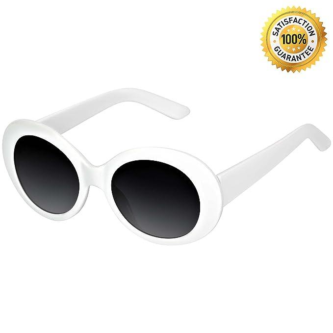 Amazon.com: Clout anteojos original cáustica ovalado ...