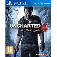 Uncharted 4: A Thief's End by Naughty Dog for PlayStation 4 - NTSC, Region 1 (PS4)