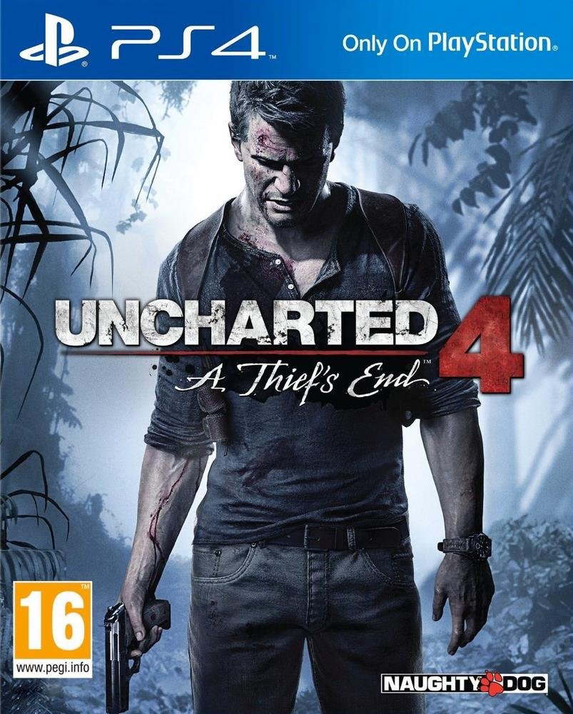 Uncharted 4: A Thief's End (PS4)- Older version product image
