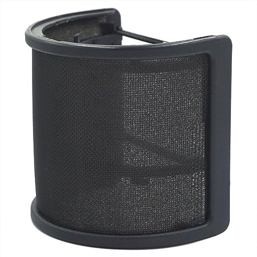 6 opinioni per TiGree Microfono Anti-vento Filtro Pop Parabrezza con Strato Schiuma per Studio