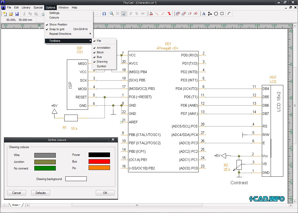 Electrical Cad Drawing Circuit Diagrams Maker Tinycad Pc Best Schematic Software Apps Directories