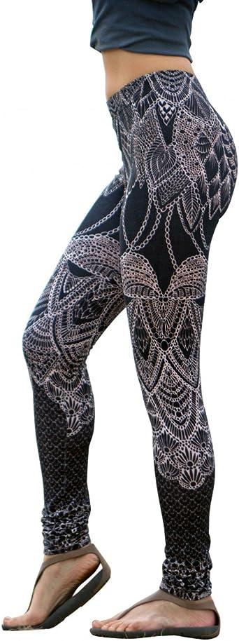Pin-Up Clothing Printed Leggings Festival Leggings Pastel Goth Womens Leggings Leggings Printed Boho Leggings Women Gothic Leggings