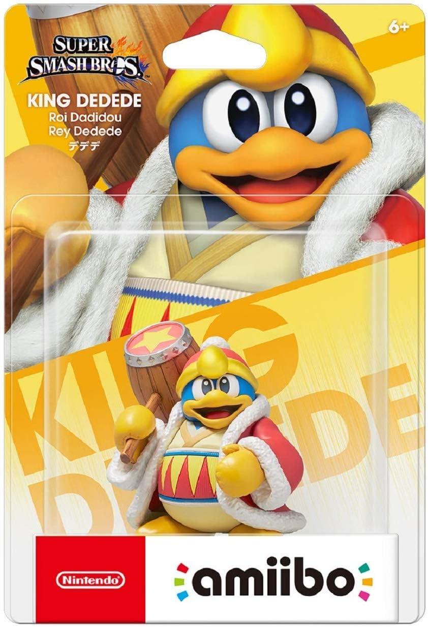 Amiibo Dedede - Super Smash Bros. series Ver. [Wii U][Importación Japonesa]: Amazon.es: Videojuegos