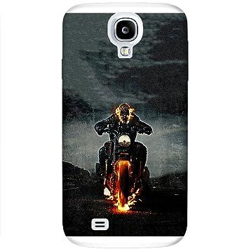Carcasa Samsung Galaxy S4 Mini - Ghost Rider motociclista ...