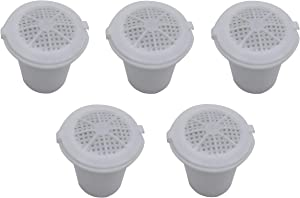 Blendin Reusable Refillable Pod Capsule Coffee Filter, Compatible with Nespresso Coffee Espresso Maker System (5 Pack)