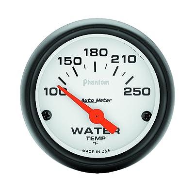Auto Meter 5737 Phantom Electric Water Temperature Gauge: Automotive