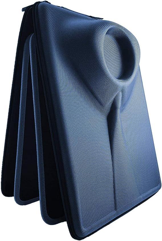 Packshi® - Funda rígida de Viaje para Camisas con Almohadilla DE Plegado de Doble Cara. La ÚNICA Funda Que Permite Plegar Camisas sin dejarlas Arrugadas. (Azul Marino): Amazon.es: Equipaje