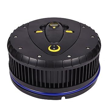 Michelin 12260 Hi Power Tyre Inflator With Detachable Digital Pressure Gauge Black