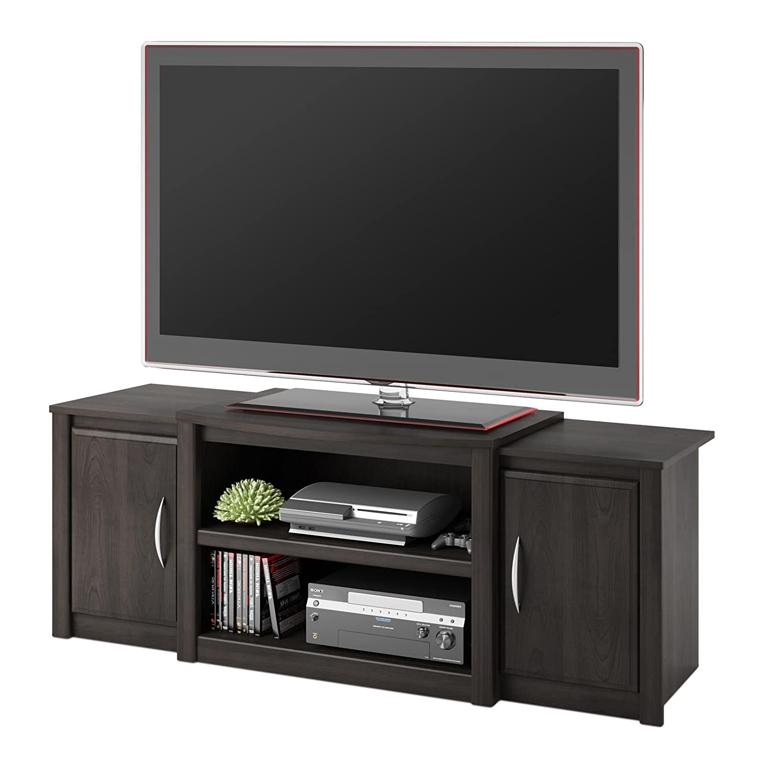 Preferred Amazon.com: Ameriwood Home Cohen TV Stand with Media Storage for  CI55