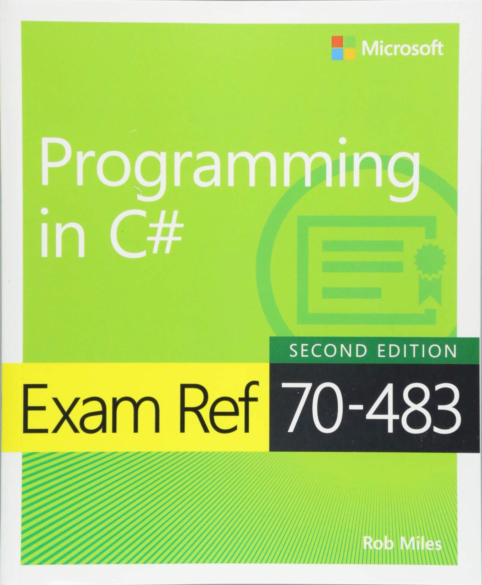 New Version of Study Guide 70-483 Book Cover