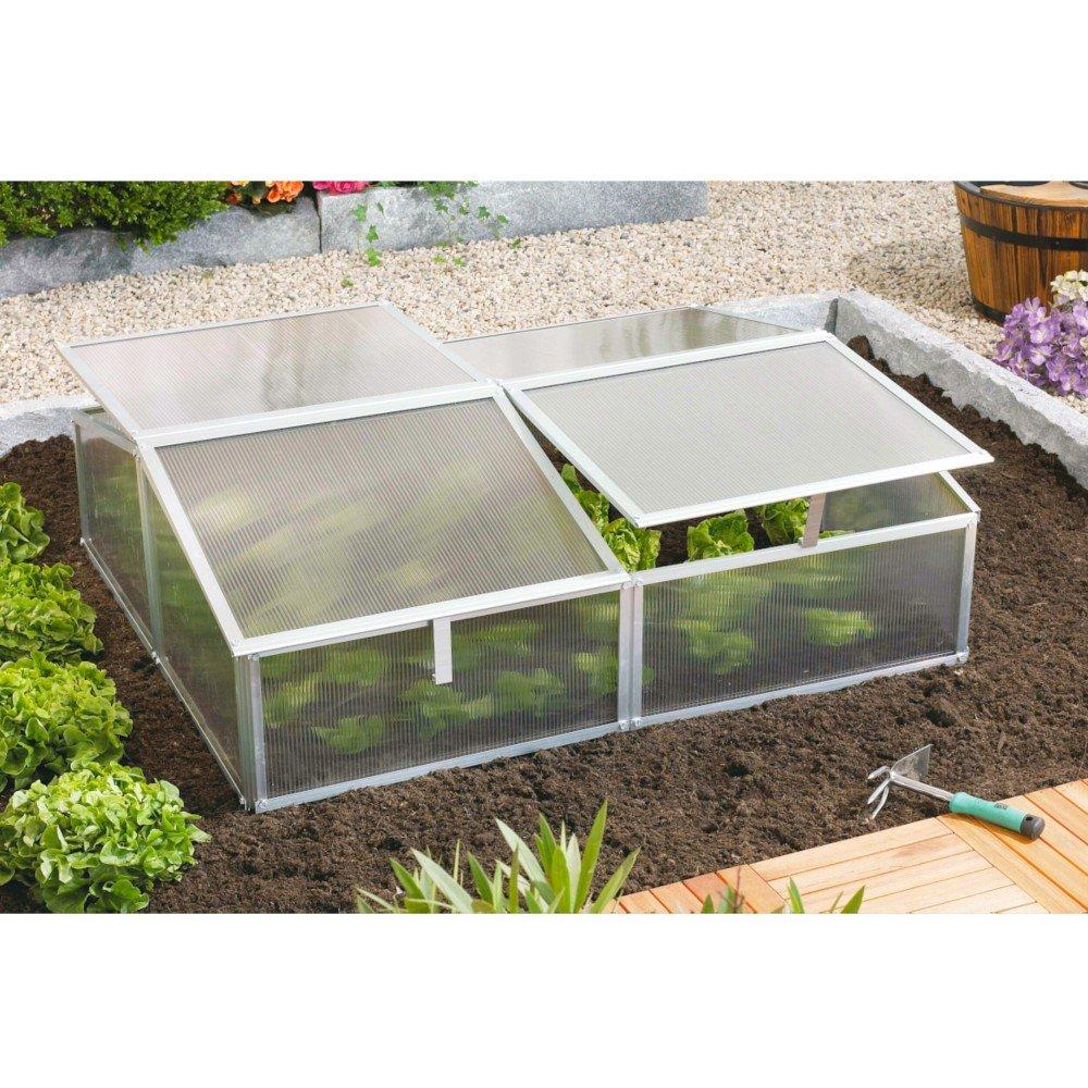 Gaia 2X Frühbeet Mini-Gewächshaus Anzuchtbox 1,2 m² ...
