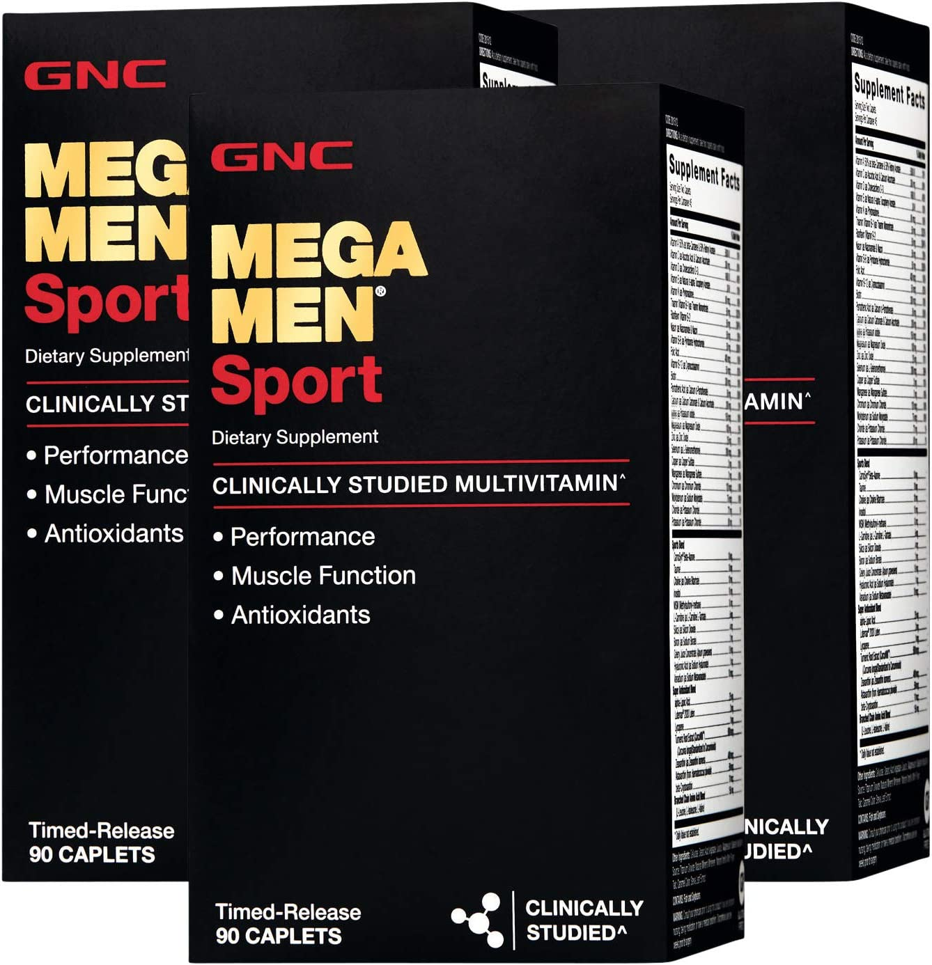 GNC Mega Men Sport – Triple Pack