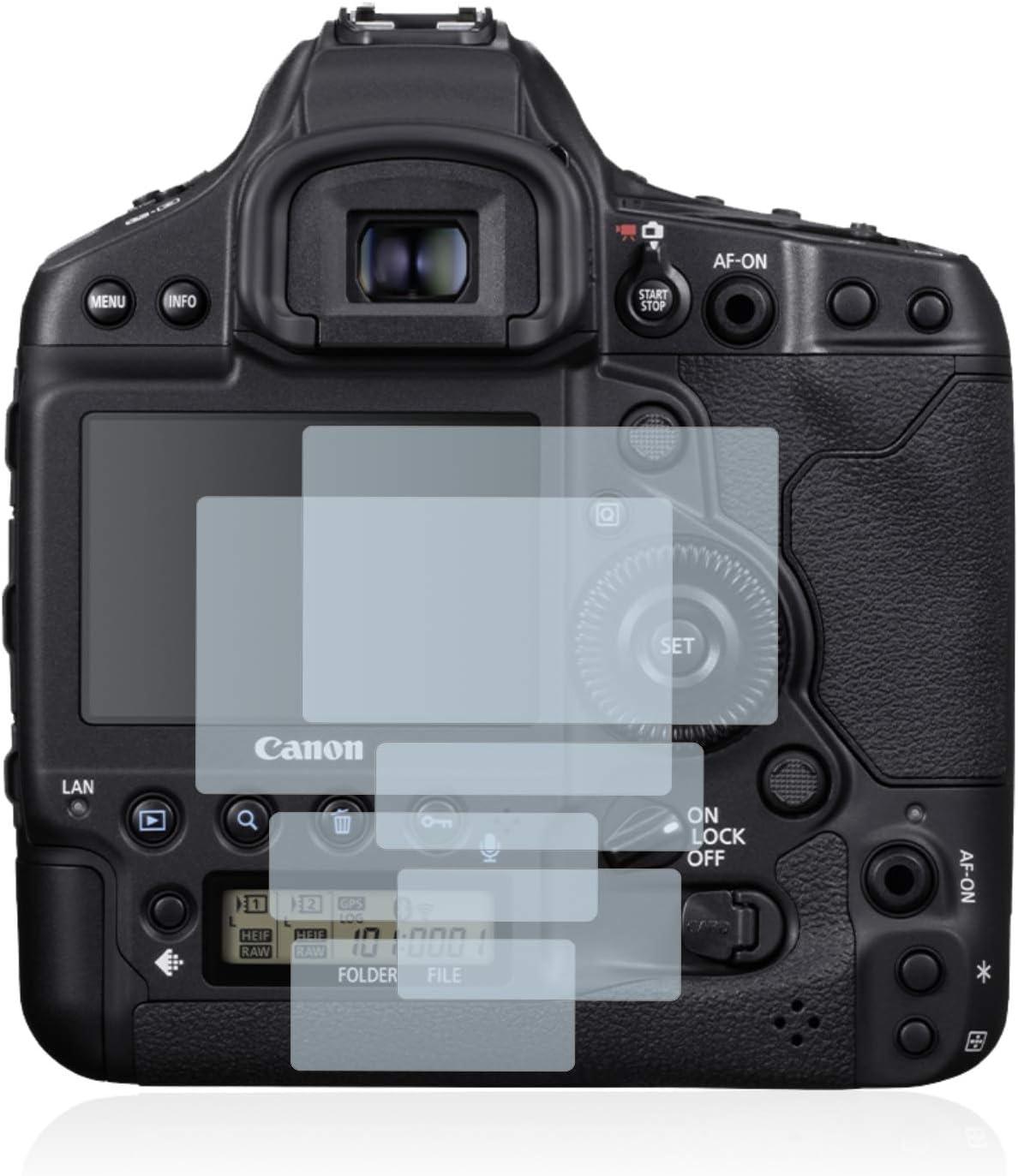 Film Protection Ultra Clair brotect 2-Pi/èces Protection Ecran Compatible avec Canon EOS 1D X Mark III