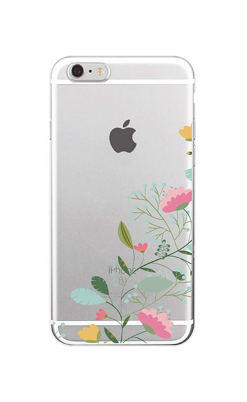 Amazon.com: for iPhone 5 6 7 S Plus 8 8Plus X XS Max Floral ...
