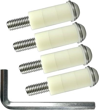 M8 x 50 mm TV Soporte de pared tornillos tornillos para Samsung TV & # x2022; espaciadores de acero inoxidable: Amazon.es: Bricolaje y herramientas