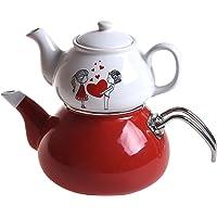 Keramika Mira Çaydanlık Seti, Çok Renkli, Standart