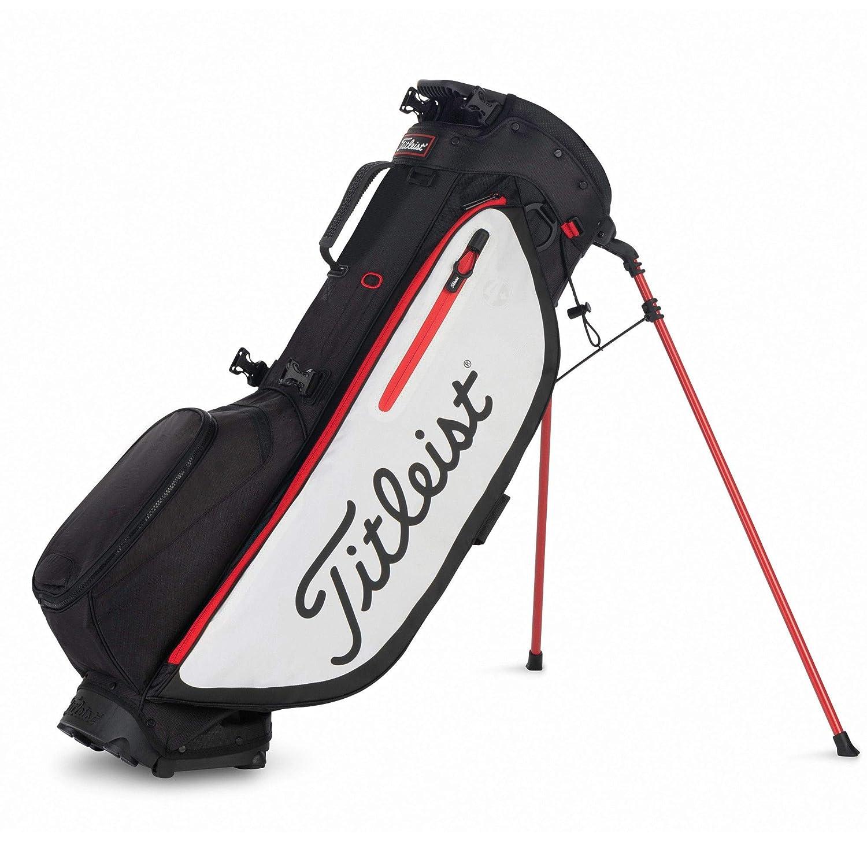 Titleist Bolsa para Palos de Golf. Players 4+. Color Rojo ...