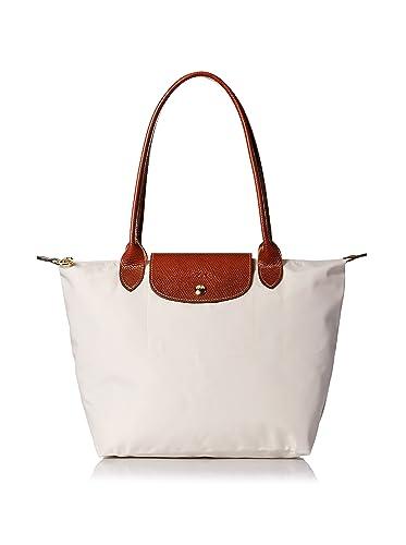 Longchamp Le Pliage 2605 089 587 Ecru Ivory Tote Bag  Amazon.co.uk ... c3c07698dcb0b