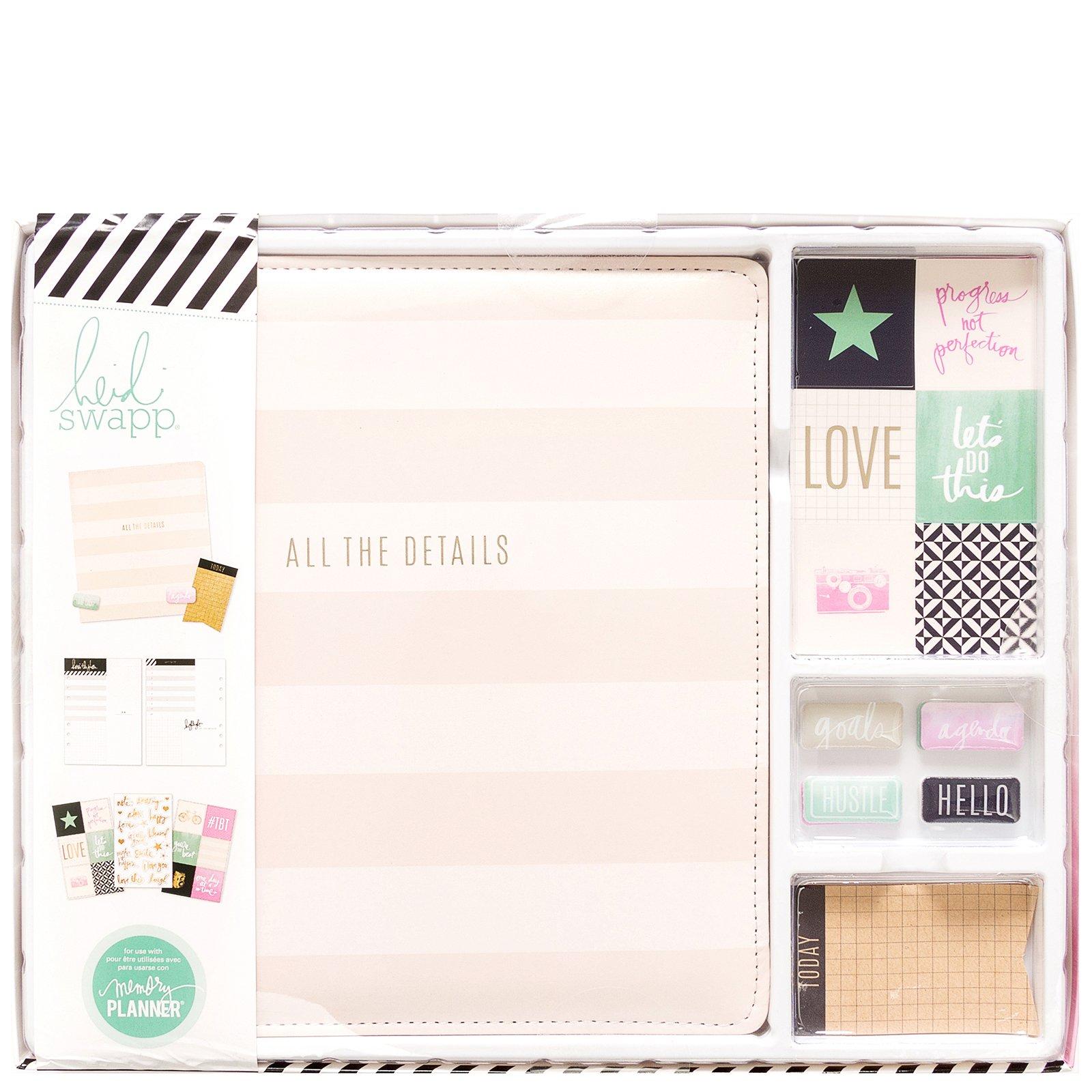 Heidi Swapp Memory Planner Kit (474 pcs), All the Details
