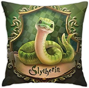 F.G. MINGSHA HLBT Illustration Series, Throw Pillow Cover Cartoon Cute Animal Pillow Cases for Home Decor Design Set Cushion Case for Sofa Bedroom Car Standard Size 18 x 18 Inch
